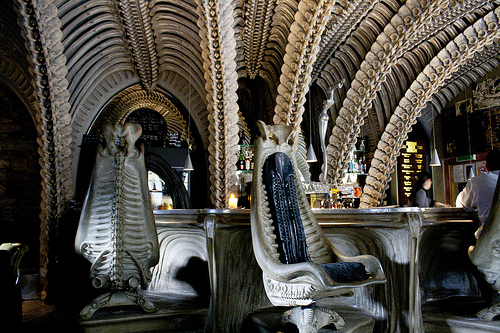 Inside Giger Bar - Photo courtesy of Amy Dianna